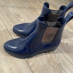 Lauren Ralph Lauren Tally Bo Rai Ankle Boots Rubbe